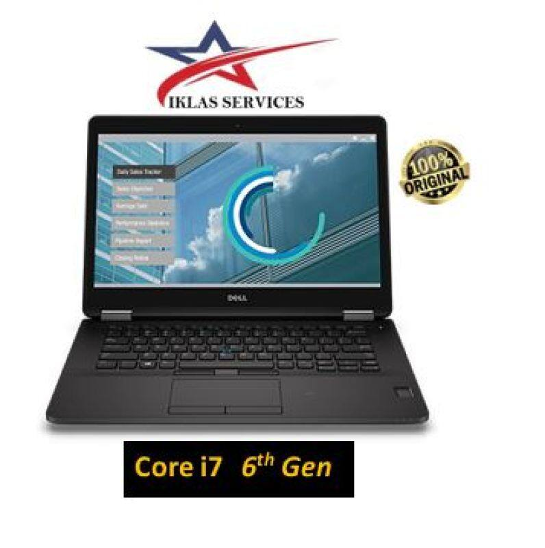 Dell latitude E7270  : Intel Core i7-6600U / 256GB SSD / 8GB DDR4 / 12.5in FHD (1920x1080) | touch screen Window10 PRO Malaysia