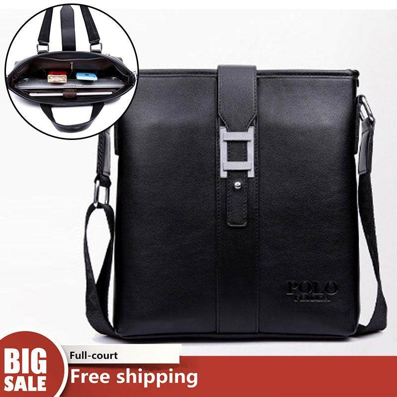 JOHNN New 【High Quality】Business Mens Fashion Handbag Shoulder Messenger Bag Briefcase Computer Bag
