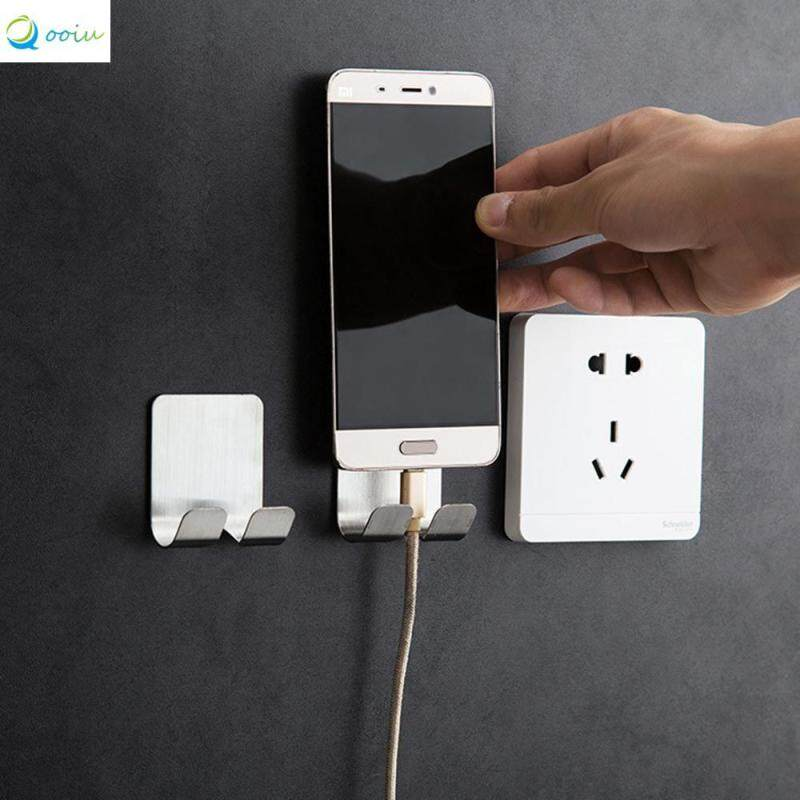 Qooiu Multi-Function Durable And Nail-Free Hook Professional Is Not Easy To Drop Super Load-Bearing Hook Mobile Phone Charging