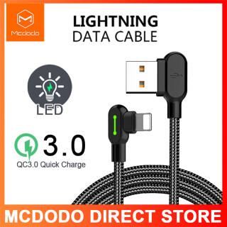 Cáp chơi game Mcdodo CA-467 90 Lightning cho iPhone sạc nhanh 0,5M 1,2M 1,8M thumbnail