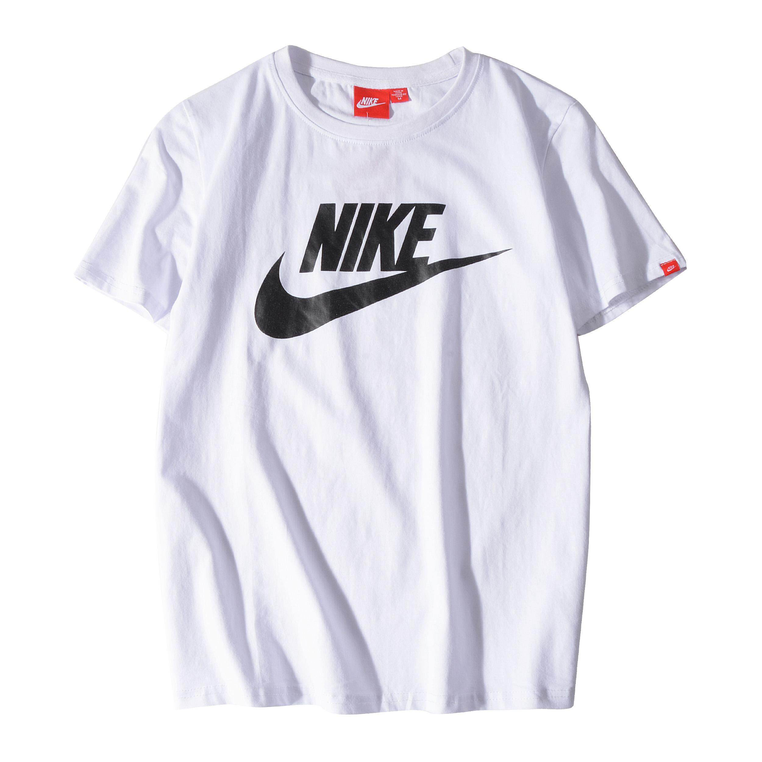 b1f6bba8 Original NIKE_t-shirt Classic Printed Comfortable Recreational Sports  Couple Short-sleeved T-shirt