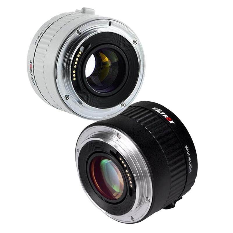 Viltrox C-AF 2X Auto Focus Teleconverter 2.0X Extender Telephoto Converter Camera Lenses For Canon EF Mount Lens DSLR Camera (White, Black)
