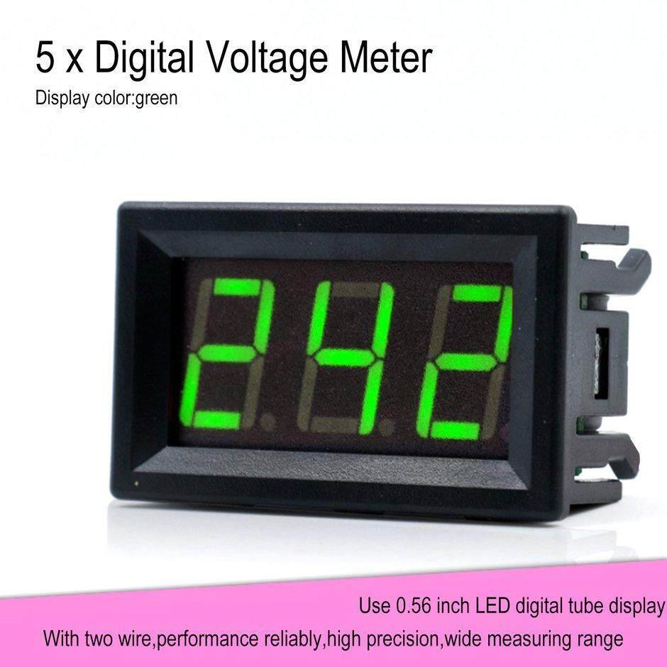 Electrical Testing 2pcs Dc 5v 70v Led Digital Display Panel