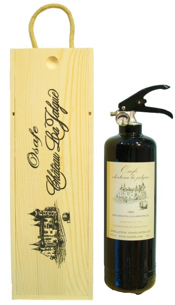 Osafe Fire CE certified 1kg Fire Extinguisher-Wine Series