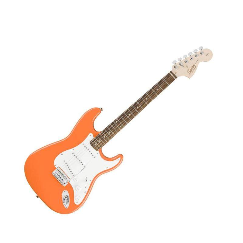 Squier Affinity Series Stratocaster Electric Guitar, Laurel FretBoard, Competition Orange Malaysia