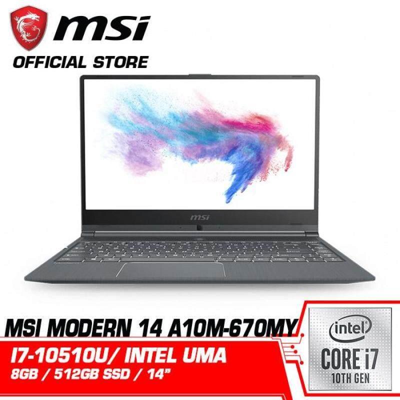 Modern 14 A10M (Intel HD) Malaysia