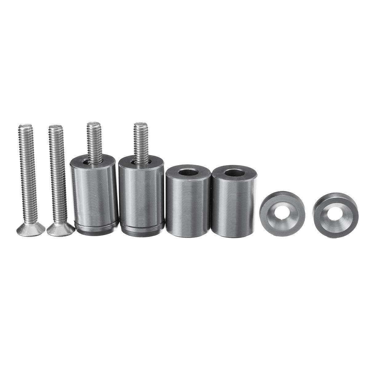 1/'/' 8mm Billet Hood Vent Spacer Riser Kit For Car All Motor Turbo Engine Swap