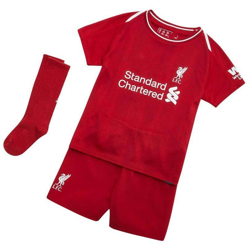 31de8caec94 (Free Socks) Children Top Quality Liverpool Home and Away and 3rd Football  Jersey Kit