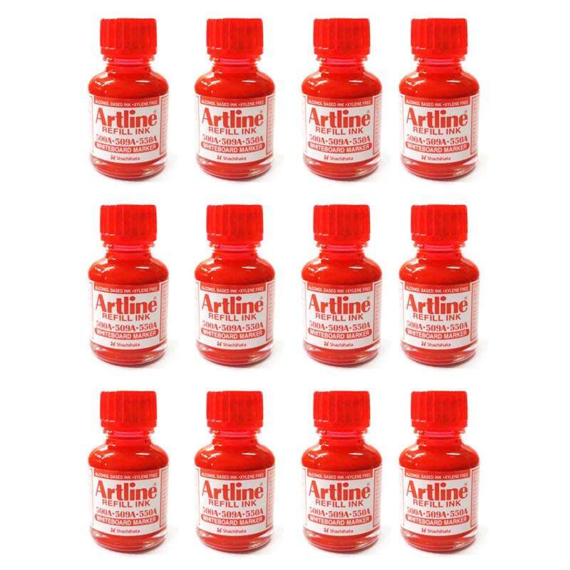 [promo / 12 Bottles] Artline 20cc/ml Refill Ink For Whiteboard Markers 550a / 500a / 509a / 5100a / 5109a / 157r / 159r By A2z Hub.
