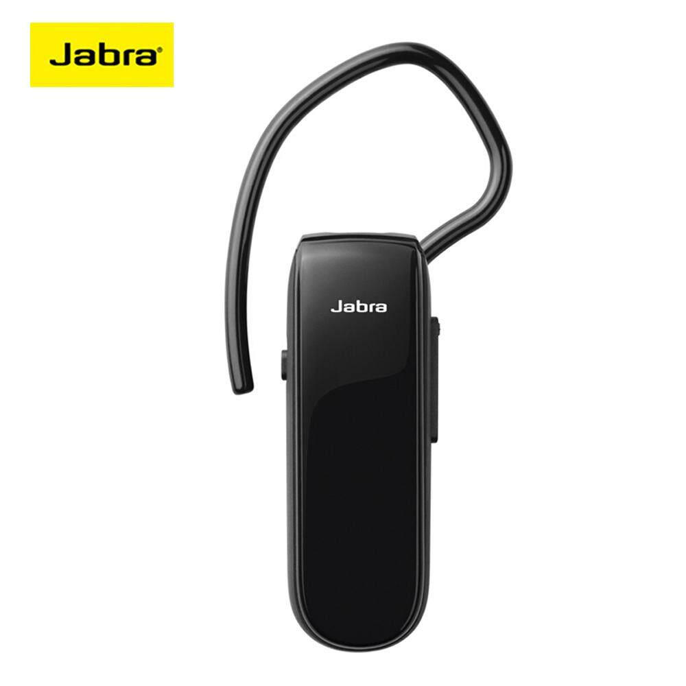 Jabra CLASSIC Nirkabel Headphone Bluetooth dengan MIC Bisnis Ponsel Pintar Headset Earphone Tunggal Stereo Earbud Musik