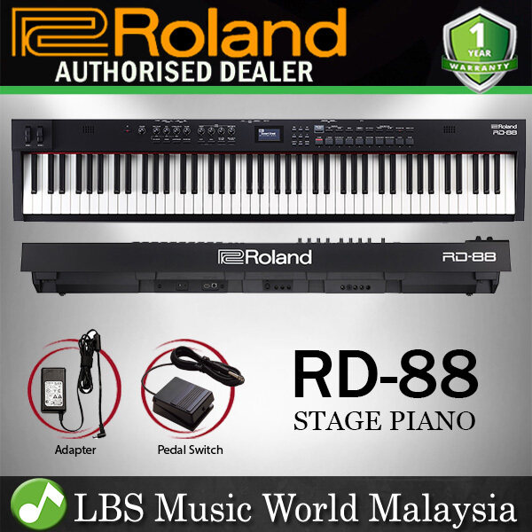 Roland RD-88 88-key Stage Digital Piano RHA-4 Action with Speaker (RD88 RD 88) Malaysia