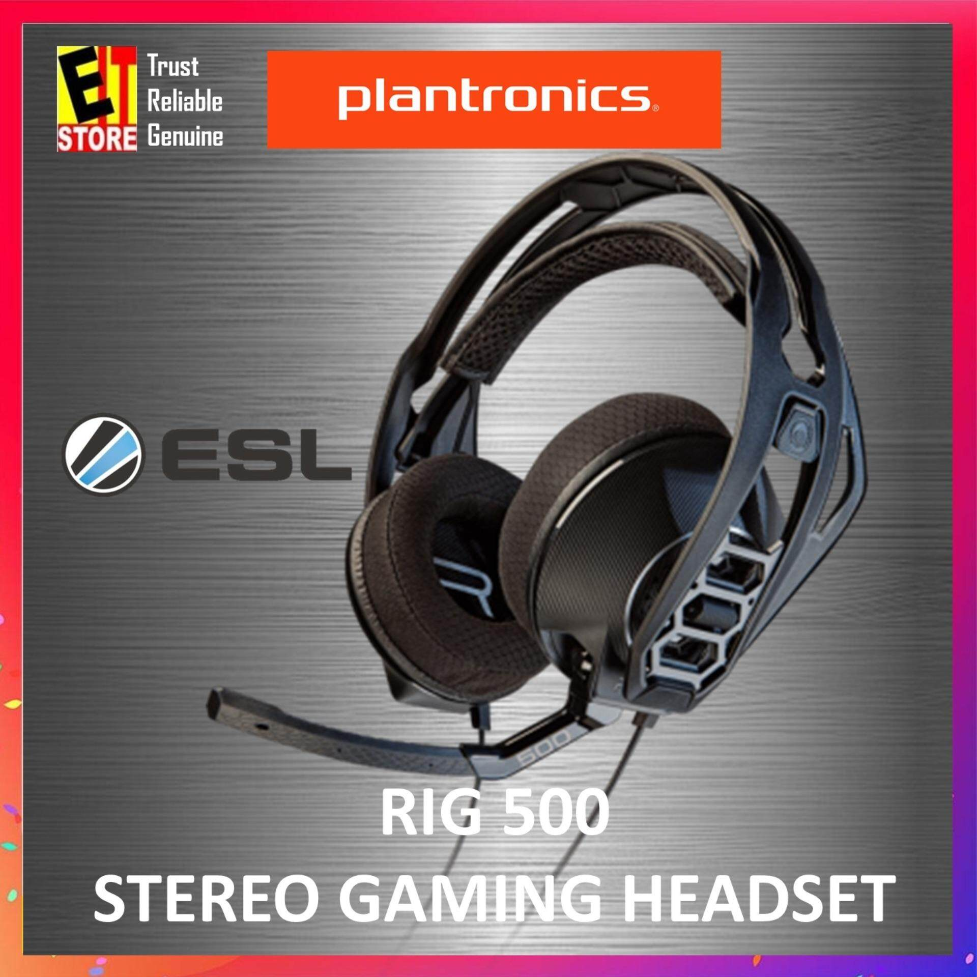 PLANTRONICS RIG 500 STEREO PC GAMING HEADSET GAMING STARTER PACK