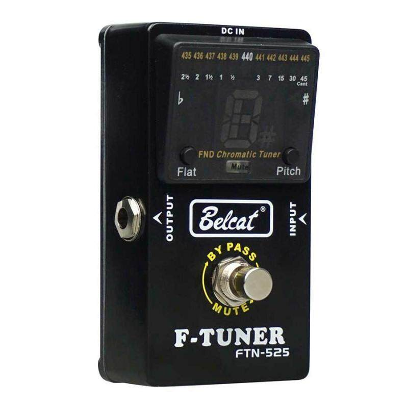 Belcat Guitar Pedal Tuner Bass Tuner Effects Pedal FTN-525 Chromatic Pedal Tuner LCD display Malaysia