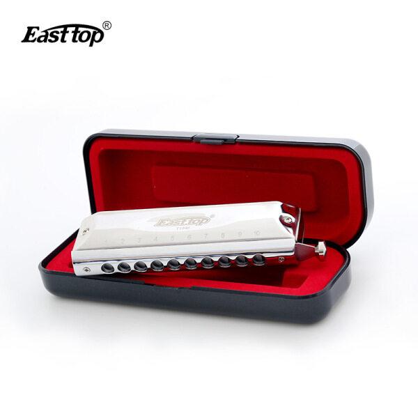 Kèn Harmonica Easttop Kèn Harmonica Màu Chuyên Nghiệp 40 Tông 10 Lỗ Có Vỏ Áo Cơ Quan Miệng Dành Cho Người Chơi Chuyên Nghiệp Quà Tặng Sinh Nhật Cho Học Sinh Mới Bắt Đầu