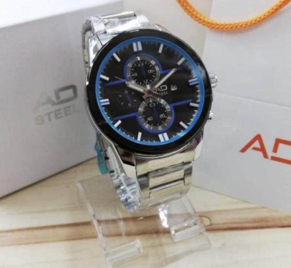 AD STEEL Chain Sports Edition with Date LE Watch ADSP348DSL-0102 (ORIGINAL) VIRALMURAH Malaysia