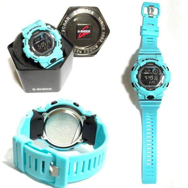 G_Shock_New Arrival High Good Quality Watch For Unisex Fully Digital Time Display Alarm Light Rubber Band With Free Gift Box Malaysia