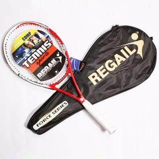 Tennis Vợt Vợt Tennis Tập Luyện Cạnh Tranh Vợt Tennis Hợp Kim Nhôm Cacbon Được Trang Bị Với Túi thumbnail