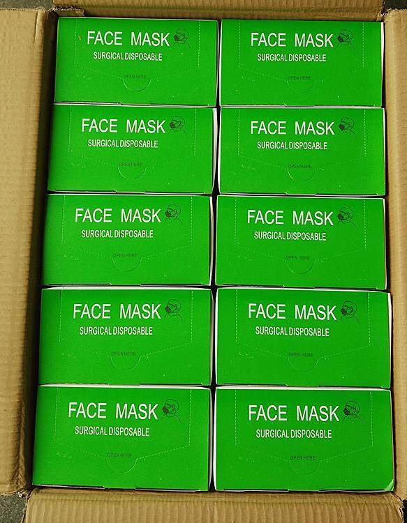 50pcs box Head Ply Strap Mask Surgical Face 3 Disposable