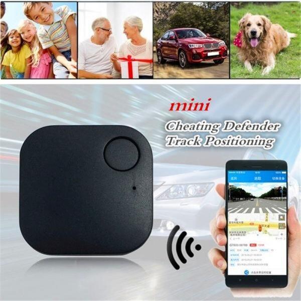 1 Thiết Bị Theo Dõi GPS Thông Minh Cho Xe Hơi Thiết Bị Theo Dõi Thời Gian Thực Cho Xe Bluetooth 4.0 Công Suất Thấp Trẻ Em Vật Nuôi Ví Phụ Kiện Theo Dõi Chống Mất