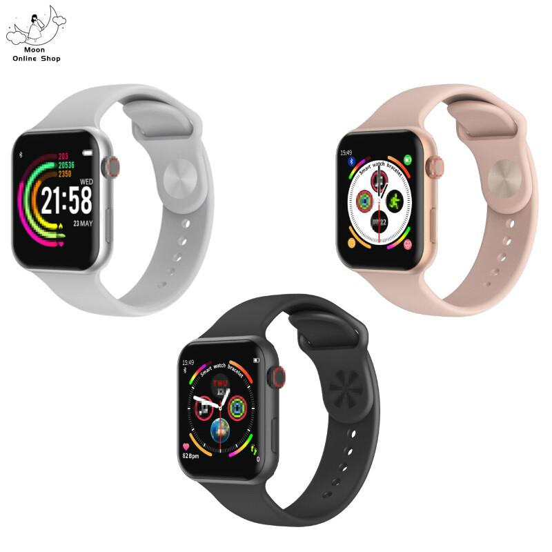 Moon Online Shop Smart Watch F10 นาฬิกาสมาทวอช นาฬิกาสมาร์ทวอทช์ รุ่น F10 นาฬิกาอัจฉริยะ ดีไซน์สวยงาม นาฬิกาข้อมือ นาฬิกา นาฬิกาแฟชั่น นาฬิการุ่นใหม่ Smart Band Fitness Tracker Smart Bracelet F10 Smart Watch.
