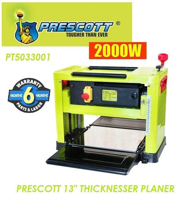 Prescott 2,000W 13 Benchtop Thickness Planer, Thickness Planer
