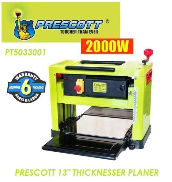 Prescott 2.0kW (330mm) 13 Portable Wood Thickness Planer