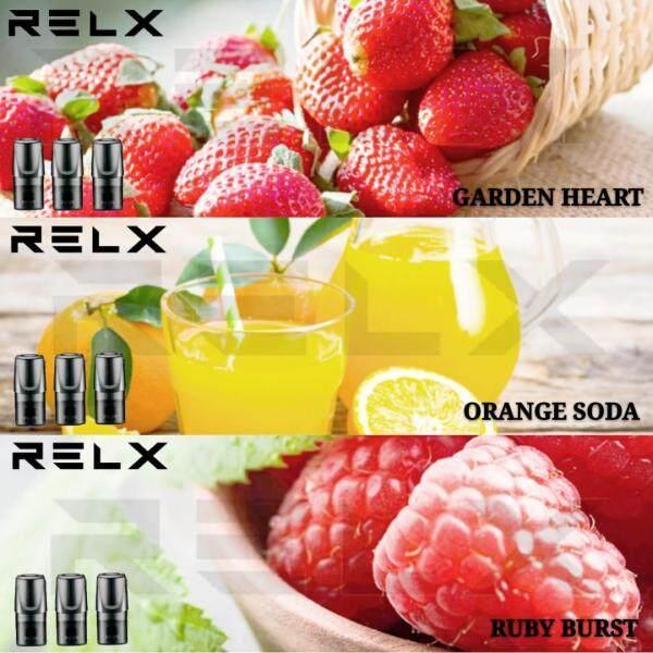2019 Relx Vape Replacement Relax Refills Multi Flavor 3 PCS Set [Original Malaysia Set - 1 Year Warranty] Malaysia