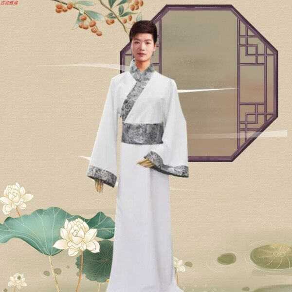 Trang Phục Cho Nam Học Giả Hanfu, Trang Phục Hóa Trang Cho Nam Childe Tang, Phong Cách Trung Hoa, Triều Đại Bài Hát, Trang Phục Nam