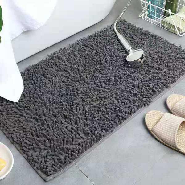 Thảm Lông Mềm Mịn 40X60Cm Thảm Chenille Lối Vào Phòng Tắm Thảm Khu Vực Cửa Phòng Khách Thảm Nhiều Màu Thảm Cạnh Giường