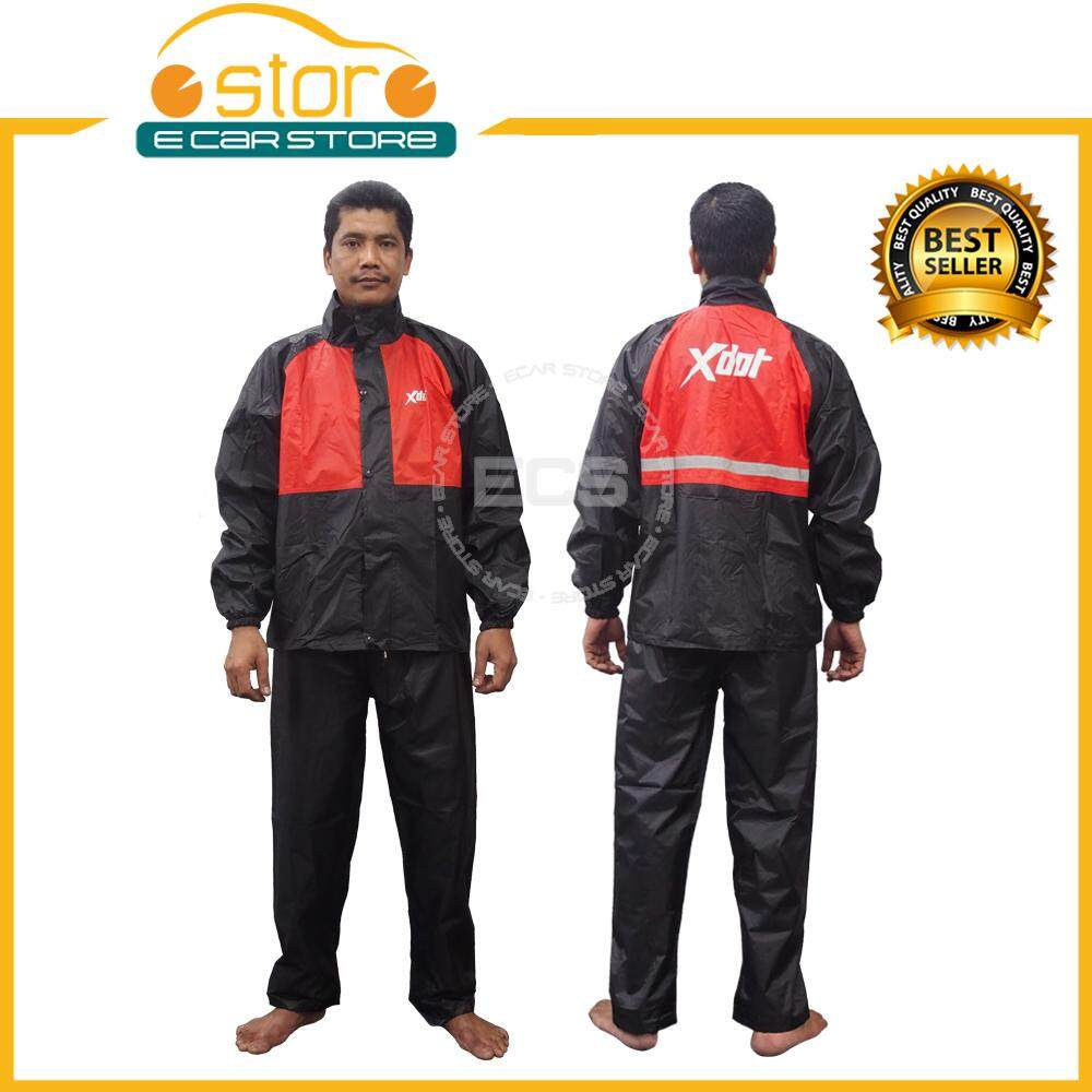 Xdot Rc008 Raincoat Jacket Waterproof Canvas Pants And Sling Bag By Ecar Store.