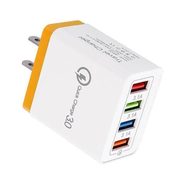 Giá Bộ Sạc Tường 4 Cổng USB Màu Sạc Nhanh Bộ Sạc Du Lịch US Plug Adaptor