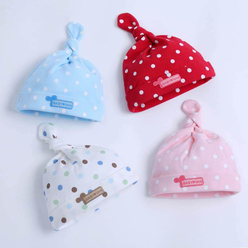 Newborn Baby Unisex Toddler Infant Boys Girls Beanie Hat Soft Cute Cap Cotton