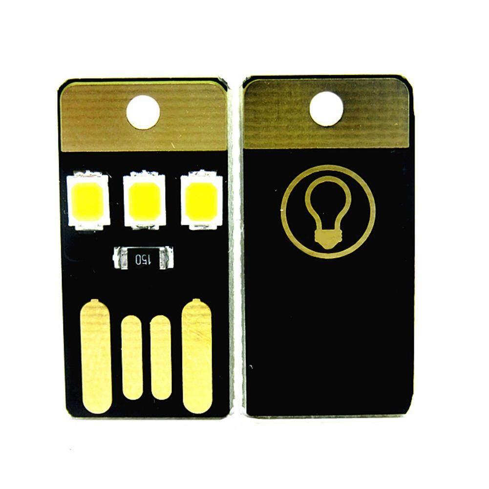 B LED Light Pocket Portable Credit Card Lamp Camping Wallet Torch Bulb 2PCS