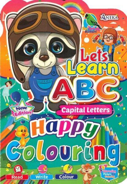 Siri Burung Kenari - Lets Learn Write ABC Capital Letters (Happy Colouring) Malaysia