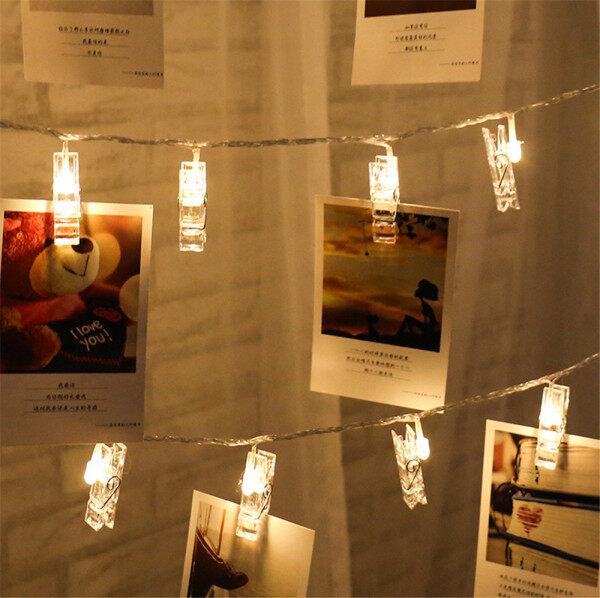 【Đèn LED Kẹp Ảnh 1.5M/2M/3M Taroball, Đèn Trang Trí Vòng Hoa Cổ Tích, Đèn Trang Trí Tiệc Cưới, Giáng Sinh, Chạy Bằng Pin