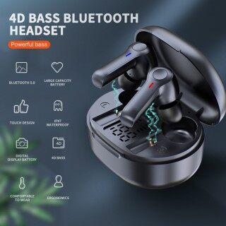 Tai Nghe SUMLIFE R22 TWS Bluetooth 5.0, Tai Nghe Không Dây Âm Thanh Nổi HiFi 9D Điều Khiển Cảm Ứng Thông Minh Với Màn Hình LED thumbnail