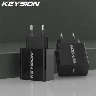 Bộ Sạc PD KEYSION Sạc Nhanh 20W, Sạc Cho iPhone 12 11 XR 8 USB Type C Sạc Cho Điện Thoại Xiaomi Quick Charge 3.0 thumbnail