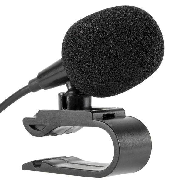 3.5mm Jack Microphone Stereo Wired External Microphone with U Shaped Clip for Car Radio Singapore