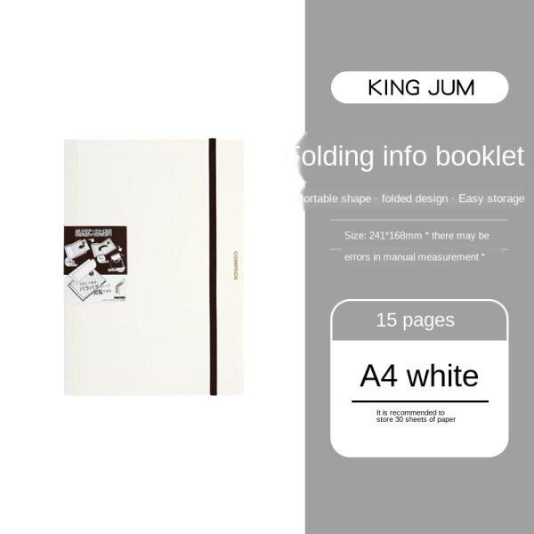 Mua ☽△ Freellife000 Sách Dữ Liệu Gấp A3 Hồ Sơ Dữ Liệu Kiểm Tra Thai Kỳ A4 Compack Kẹp Giấy Kiểm Tra Văn Phòng Học Sinh Nhiều Lớp Chèn Trong Suốt 5894M-GS