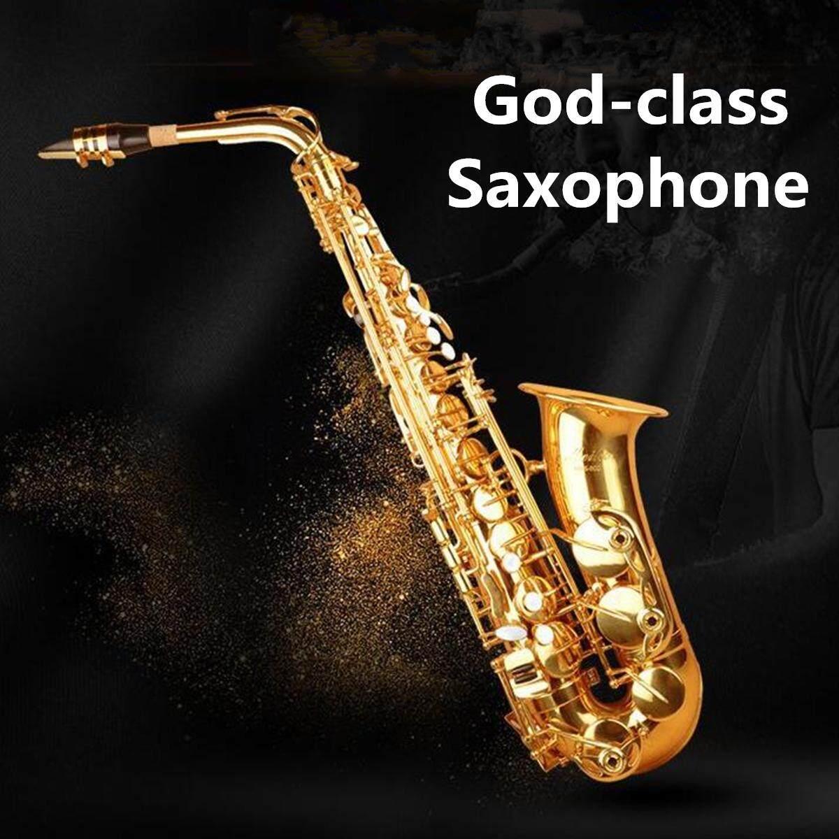 Alto Saksofon Dengan Kotak Untuk Pemula/kelas Pemeriksaan/kinerja Profesional Nada Baru Alto Saksofon Kualitas Premium Dengan Kasus Sarung Tangan Tali Bagian Mulut By Ferry.