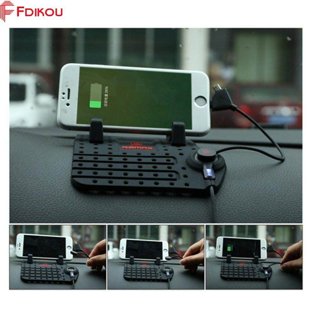 Fdikou 1 Pcs Universal Mobile Phone Car Phone Stand Holder For GPS USB Mount Charger iPhone