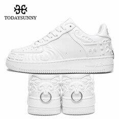 Giày thể thao todaysunny kiểu Trung Quốc cổ điển, giày Totem sư tử Air 1 thoải mái cho nam, giày thường ngày, chống sốc, cao su chống trượt