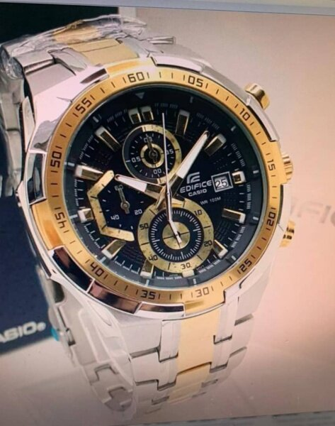 New Promo Casio_Edifice Efr 539 Stainless Steel Strap Fashion Men Watch All Function Malaysia