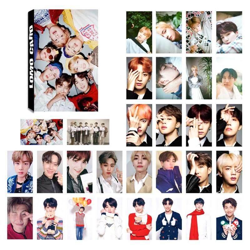 BBty 30 Pcs Kpop BTS Bangtan Boys Card Photocards Poster Album Lomo Cards  Set