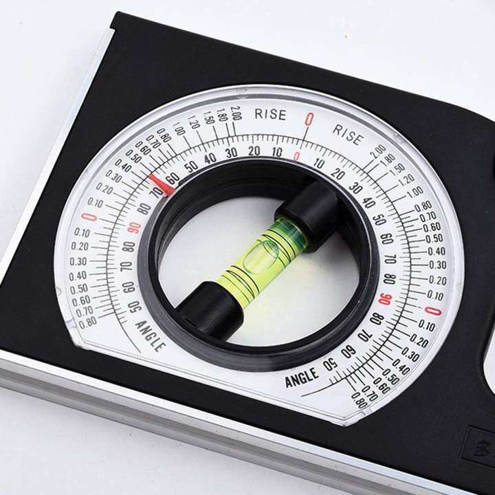 Hot Sellers Multi-Function Slope Measuring Instrument Angle Meter  Horizontal Angle Ruler   Lazada