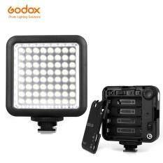 Godox LED64 5500 ~ 6500K Video Ánh Sáng Chuyên Nghiệp Phổ Biến Cho Chụp Ảnh Macro Quay Video Báo Chí