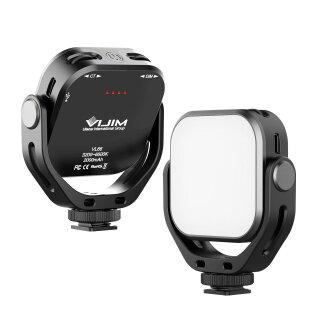 Đèn LED Video Mini VIJIM VL66 6W CRI95 3200K-6500K Điều Chỉnh Độ Sáng Vô Cấp Với Ba Giày Lạnh, Giá Đỡ Hình Chữ U Pin 2000MAh Tích Hợp Có Thể Sạc Lại thumbnail
