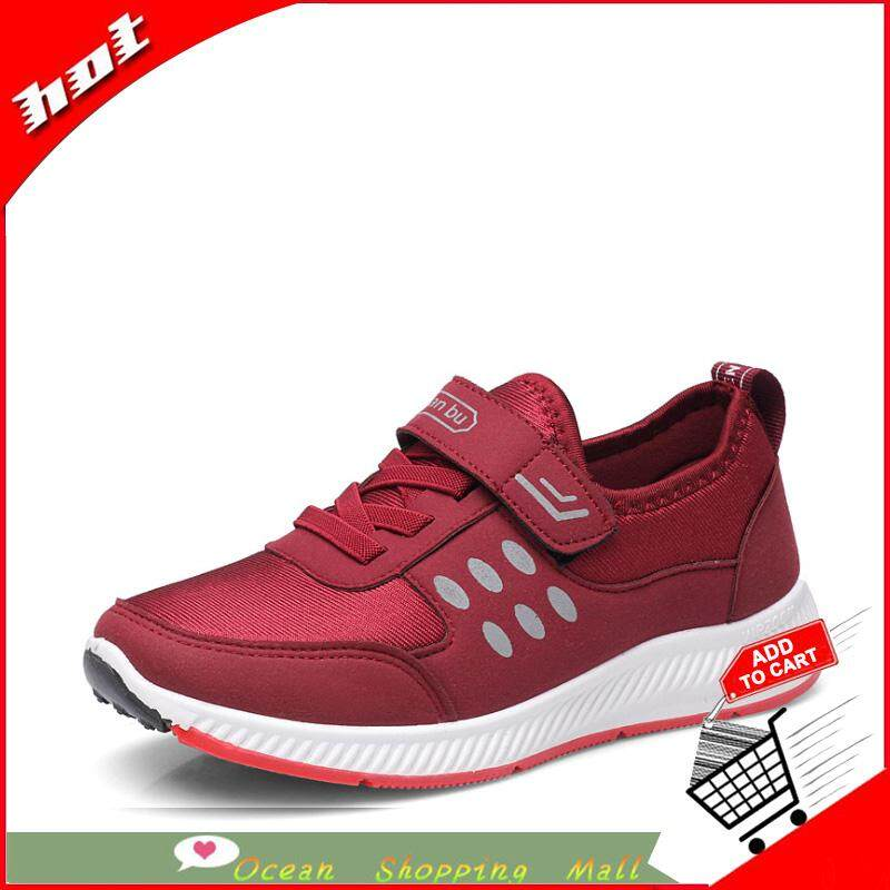 52d2a33dd241 Ocean New woman Fashion sneakers Ventilation Flat bottom Net shoes
