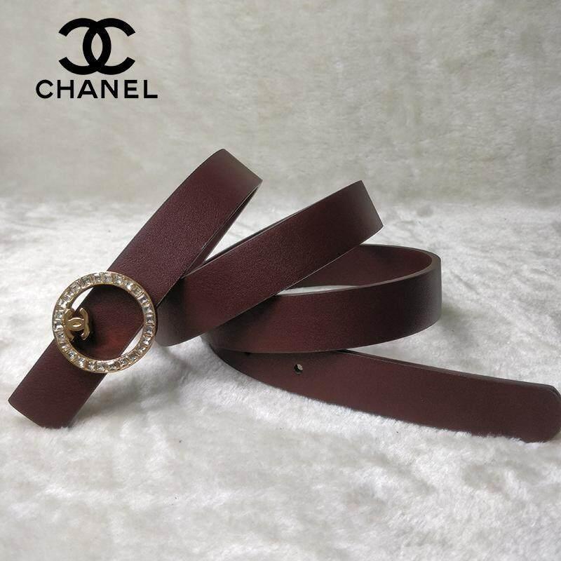 Original_Chanel Belt Top Luxury Brand Belt Metal Buckle Fashion Multicolor Matching Fashion Belt Men and Women Thin Belt