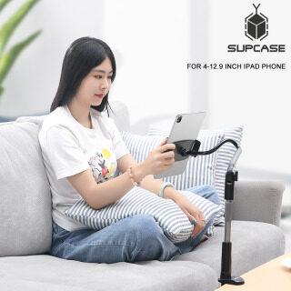SUIPCASE Điện Thoại Di Động Màn Hình Gập Chủ iPad Giá Đỡ Máy Tính Bảng Có Thể Điều Chỉnh Cánh Tay Dài Lười Biếng Giá Đỡ Điện Thoại Kẹp Giữ Bàn Gắn Máy Tính Bảng Cho 4-12.9 Inch iPhone iPad Samsung Huawei Xiaomi thumbnail